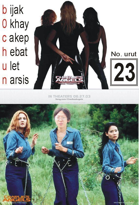 Jujur saya bingung dengan maksud poster kampanye ini