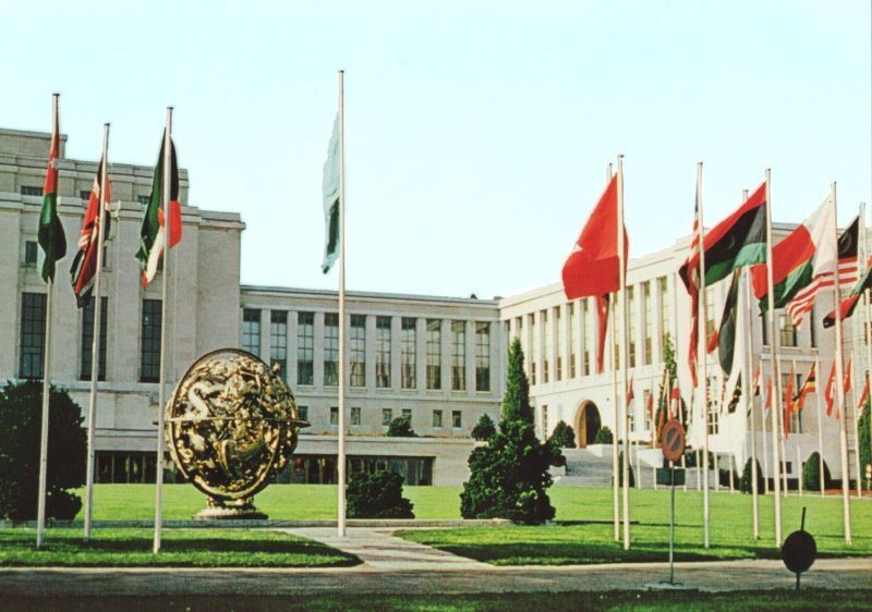 Kantor Perserikatan Bangsa - Bangsa (PBB) di Jenewa