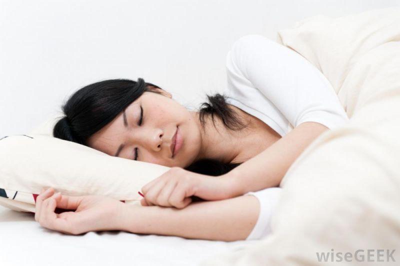 Tidur menyamping