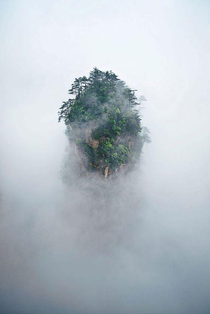 Di gunung inilah raja Cina dulu melihat pemandangan