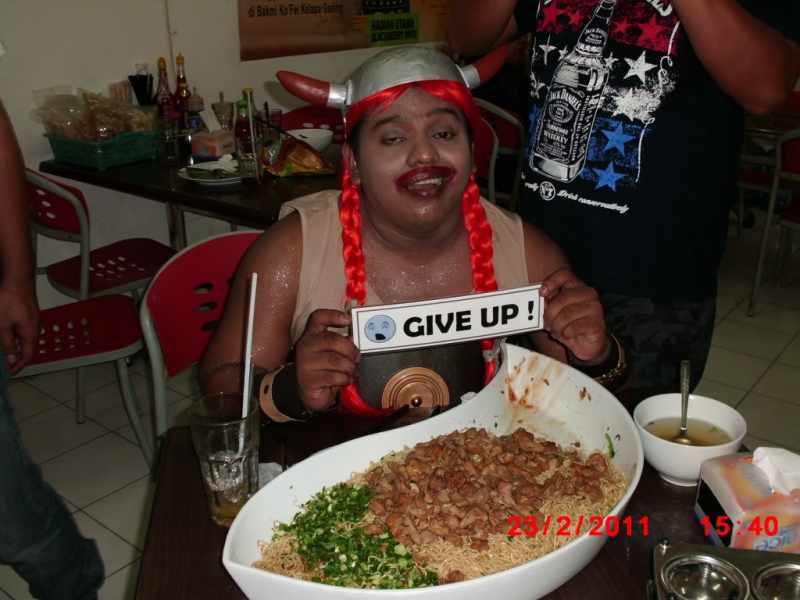 Benu Menguasai Makanan