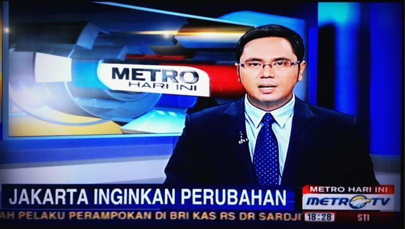 Acara berita di TV
