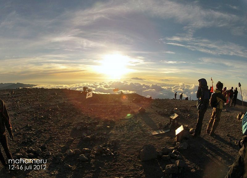 Sunrise di Puncak