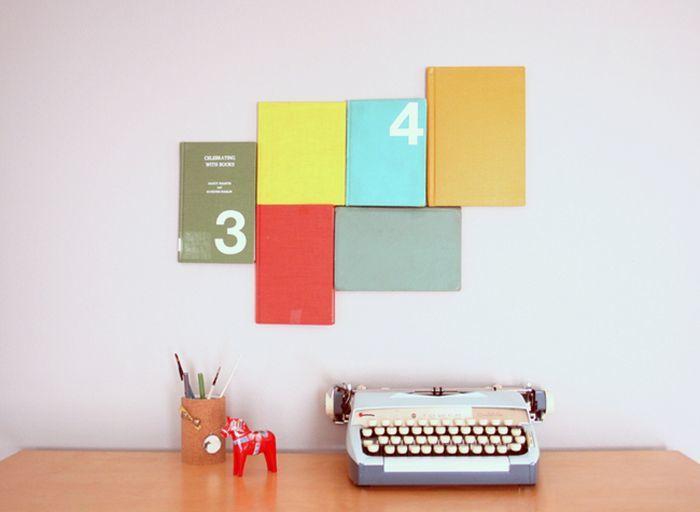 Hiasan dinding dari notebook