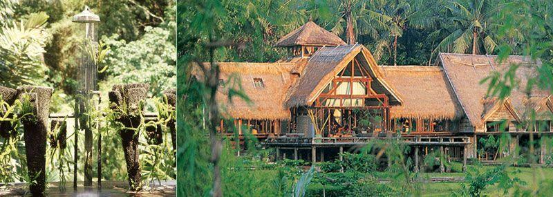Hotel ramah lingkungan dengan ciri khas bambu