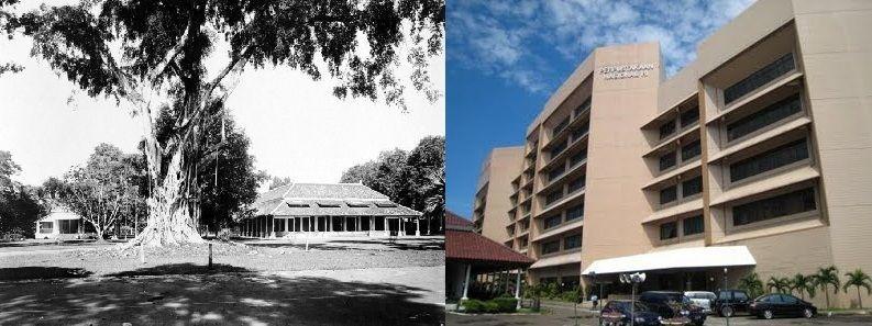 Perpustakaan Nasional Dulu dan Sekarang
