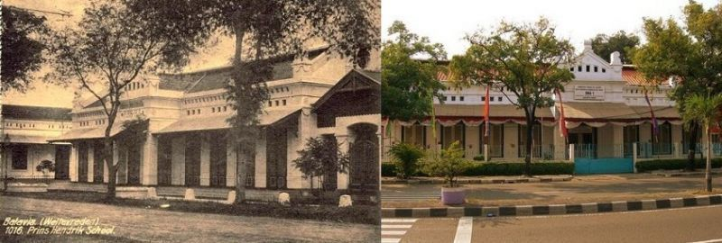 Prins Hendrik School, Dulu dan Sekarang