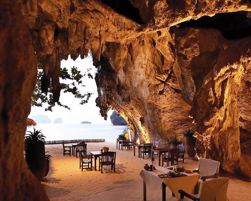 Hotel rayavadee, Thailand