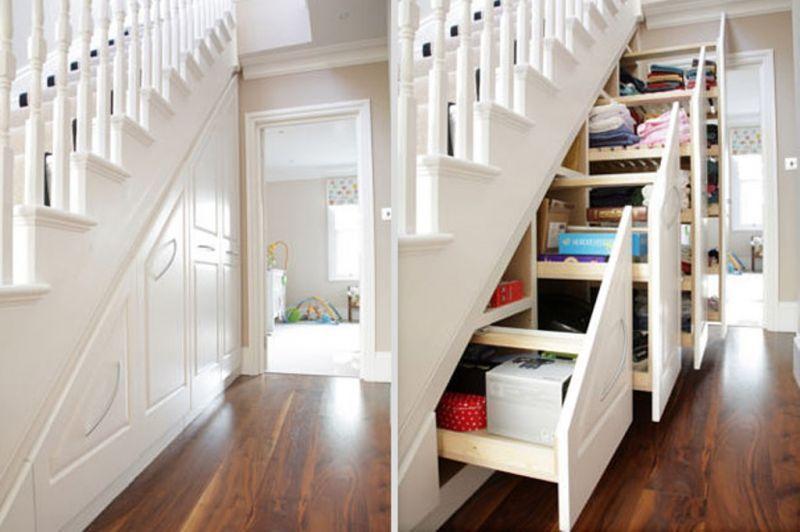 Ruang penyimpanan bawah tangga