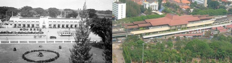 Stasiun Gambir, Dulu dan Sekarang