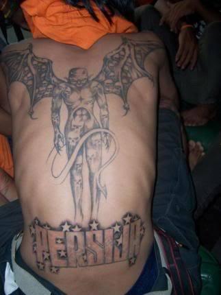 Persija di punggung