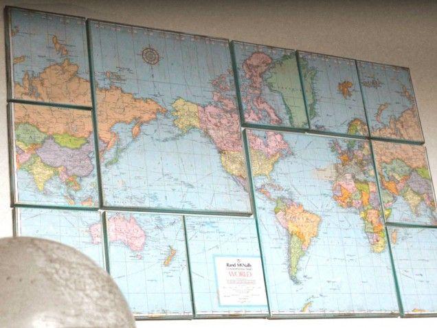 Peta dunia kreasimu