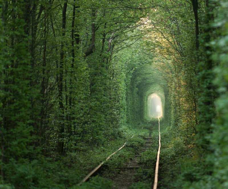 Terowongan ini masih digunakan hingga sekarang