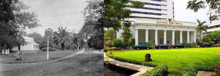 Gedung Pejambon, Dulu dan Sekarang