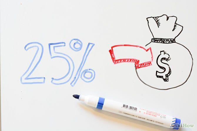 25% dari penghasilan