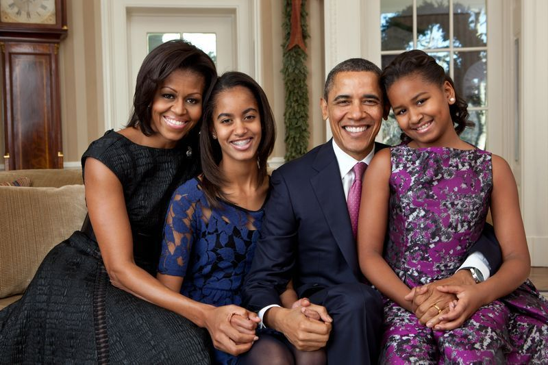 Obama dan Keluarga