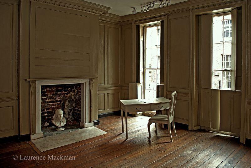 Ruang kerja Franklin