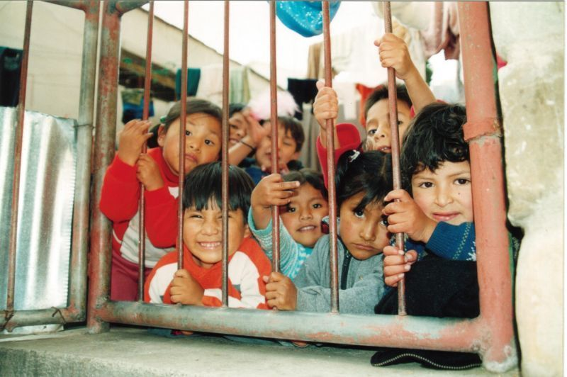 Anak - Anak di penjara San Pedro