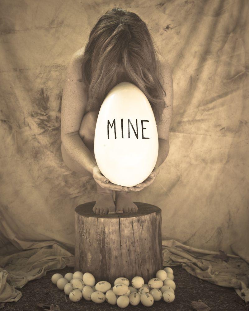 My body is mine -- Tubuhku adalah milikku.