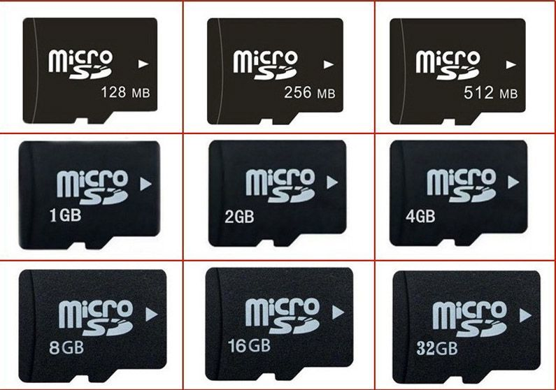 Pilih micro SD berkapasitas besar