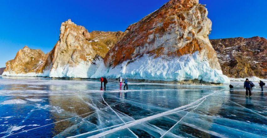 Turquoise Ice, Danau Baikal, Russia