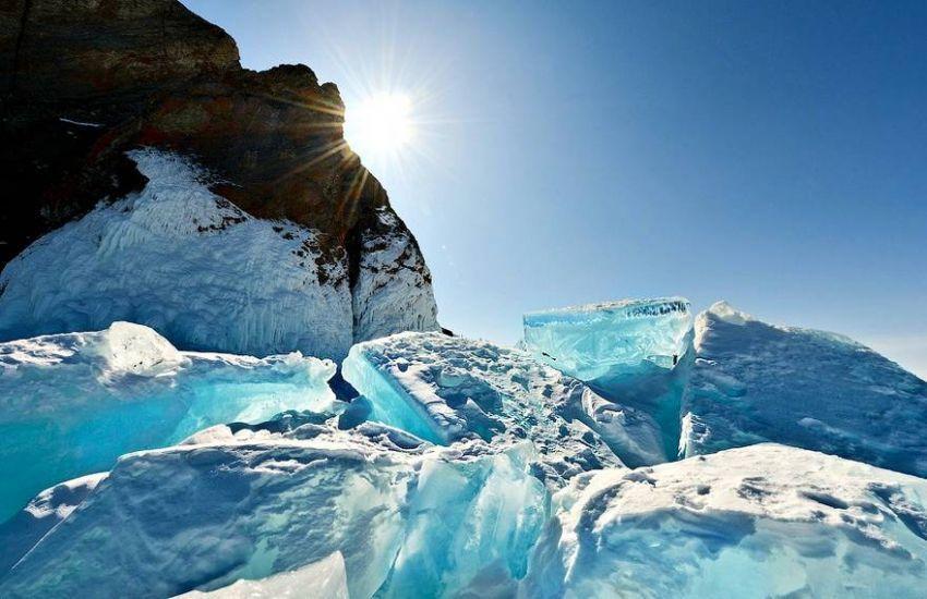 Es berwarna turquoise yang indah