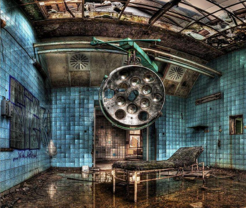 Salah satu ruangan rumah sakit Beelitz