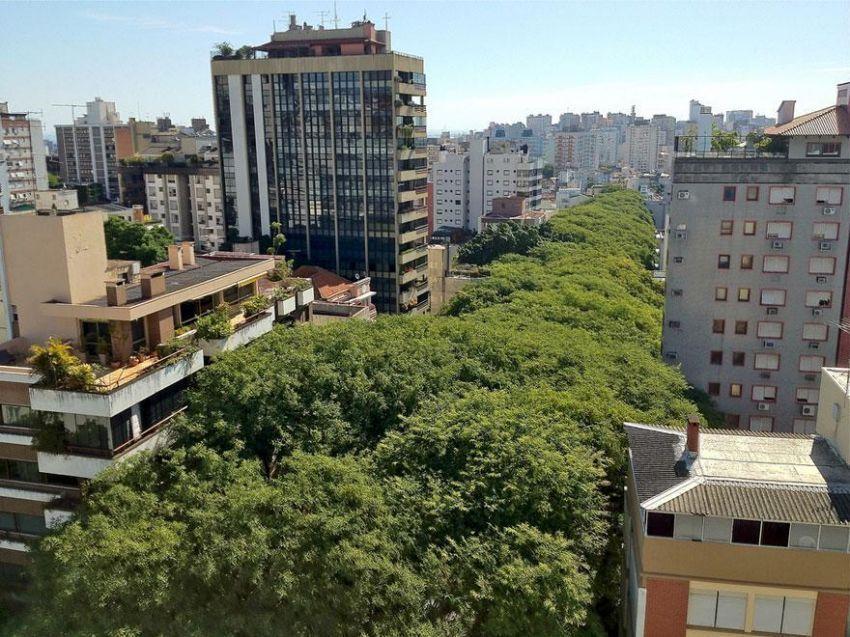 pemandangan Rua Goncalo de Carvalho dari udara