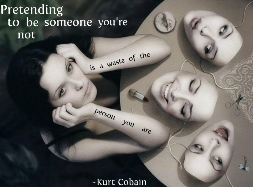 Stop jadi orang lain