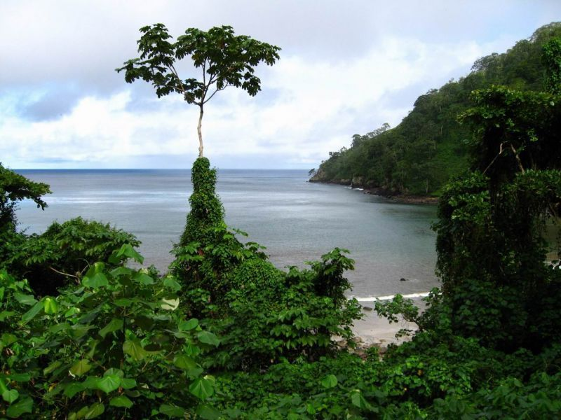 Salah satu sudut Pulau Cocos