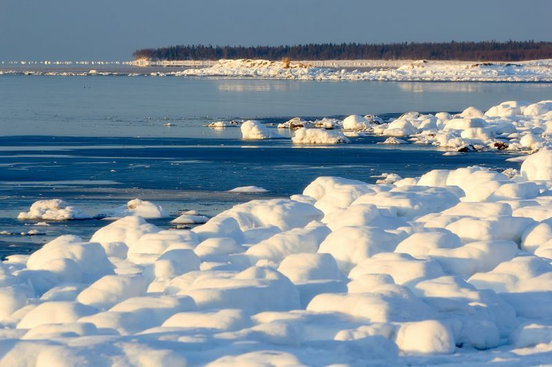 White Sea, Rusia