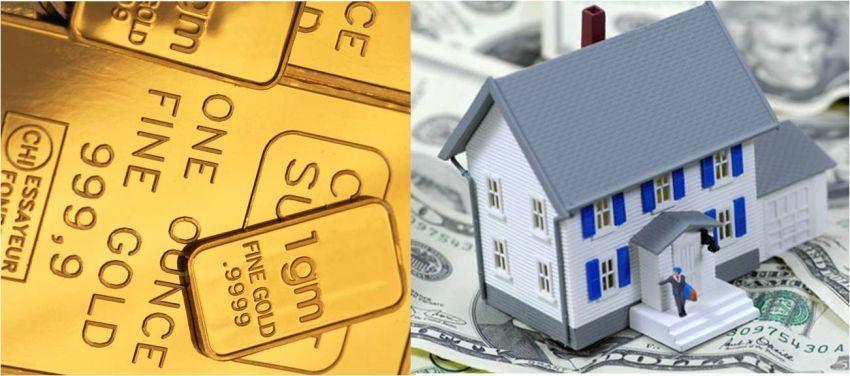 Investasi properti dan emas