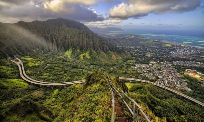Haiku Stairs di Hawaii
