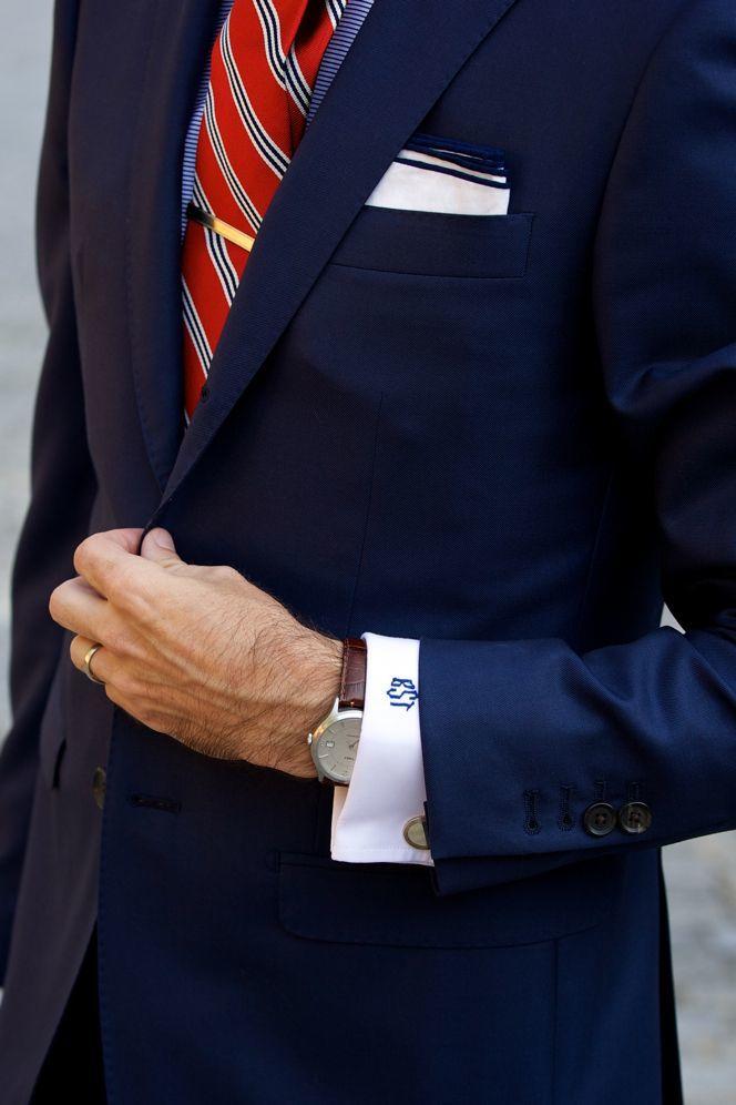 Modern power suit details