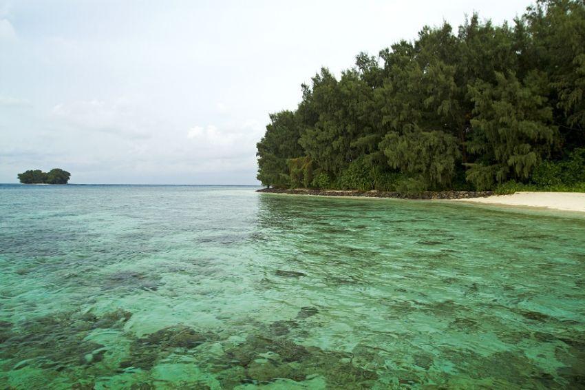 Pantai pulau Isle des Indes