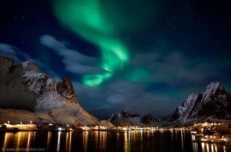 Aurora Borealis terlihat juga dari tempat ini!