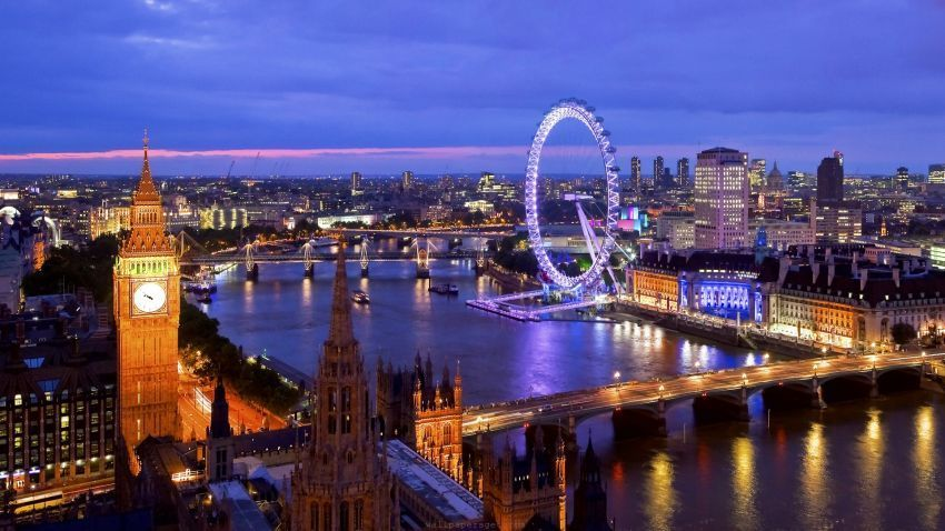 Lanskap kota London