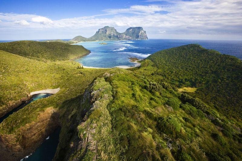 Pemandangan di Pulau Lord Howe