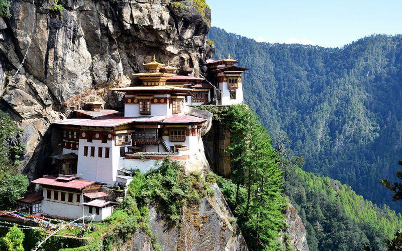 Biara kandang macan, Bhutan