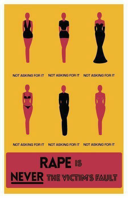 "Tidak ada cewek yang ""meminta"" diperkosa"