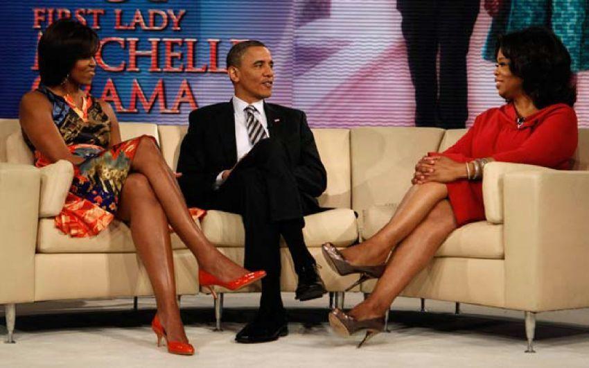 Obama di Oprah Show