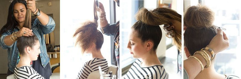 top knot process