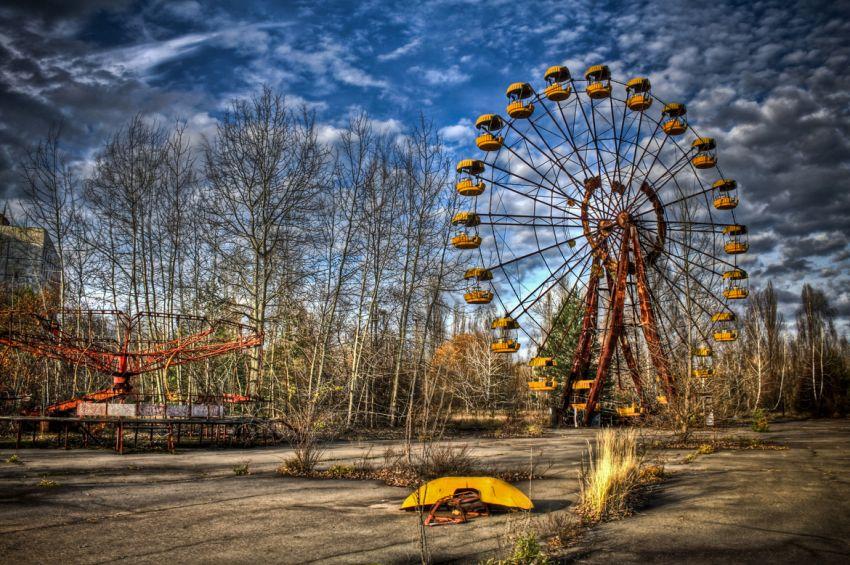 Taman bermain di Pripyat