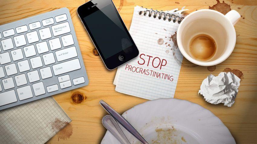 Hentikan kebiasaan menunda