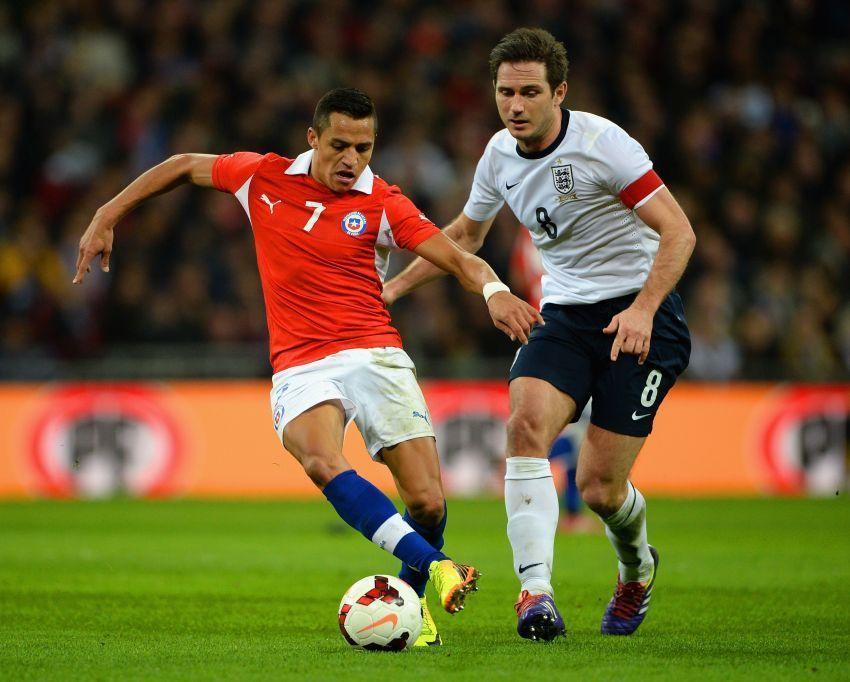 Chili ketika menghadapi Inggris
