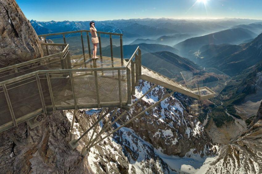 Dachstein stairway