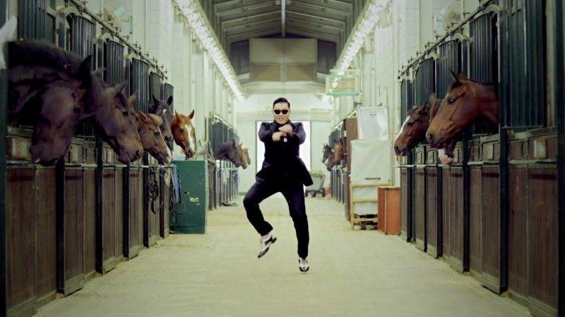Kuda beneran ya, bukan kuda Psy