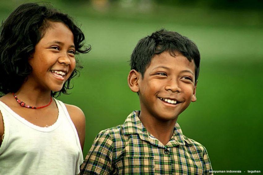 Orang Indonesia murah senyum