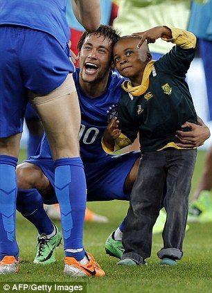 Selfie Bareng Neymar Jr.