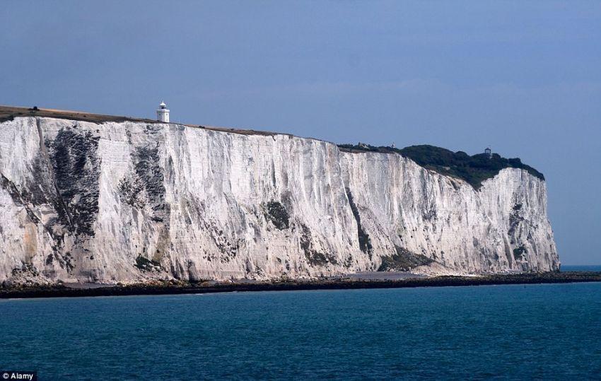 Tebing putih, Inggris
